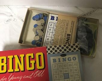 Vintage Bingo game