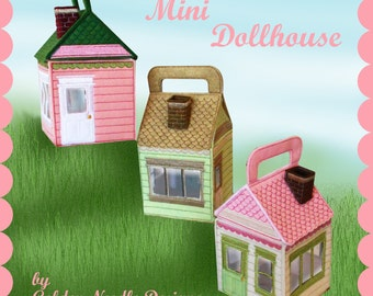 Mini Dollhouse Machine Embroidery Designs