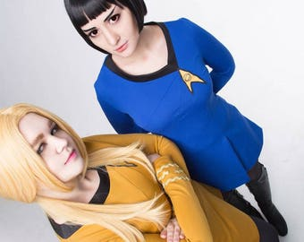 Star Trek the Original Series blue uniform dress