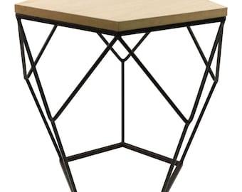 Table wire HEXI black/white