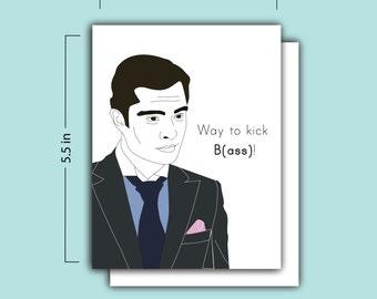 Way to Kick B(ass) Card