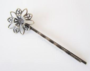 LAST ONES Antique Bronze Bobby Pins