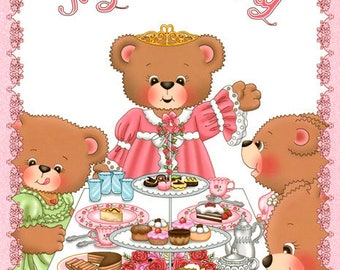 Personalized Children's Book - My Tea Party