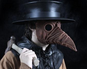 Stiltzkin leather plague doctor mask
