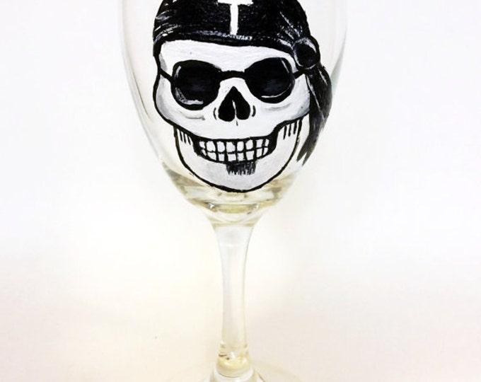 Wine glasses, Hand painted Sugar Skull Wine Glasses, Sugar skulls, Sugar skull art, Dia de Los Muertos art, skull glasses, All Souls Day