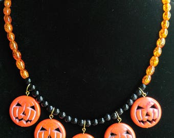 Halloween Necklace and Earring Set 2.