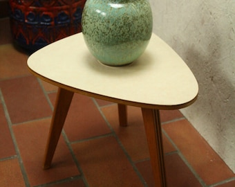 50s rock a billy side table