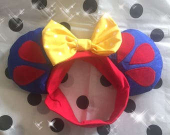 I'm Wishing Mini Minnie Ears Snow White Toddler Baby