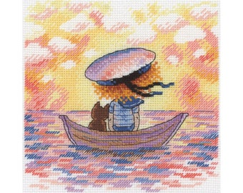Cross Stitch Kit Sunset HV-616