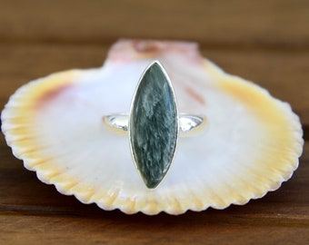 Seraphinite Ring - Size: 8