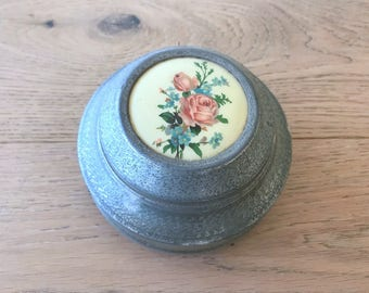 Antique Collectable Music Box Or Powder Box - NOT working