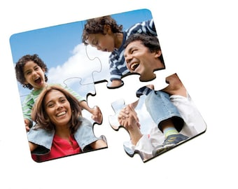 Personalized puzzles in different shapes and sizes to choose from.