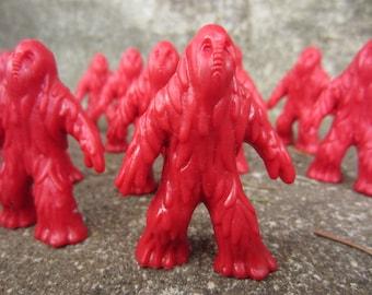 Vintage Lava Man Dragonriders Dragon Rider Red Plastic Figure