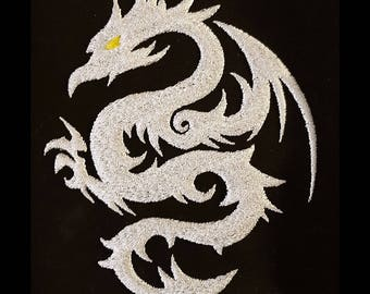 """Embroidery File """"Dragon"""" (Hoop 5"""" x 7"""")"""