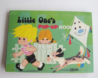 Vintage Dean's Little One's Pop-up book. 1975