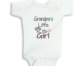 Grandpas Little Girl baby bodysuit