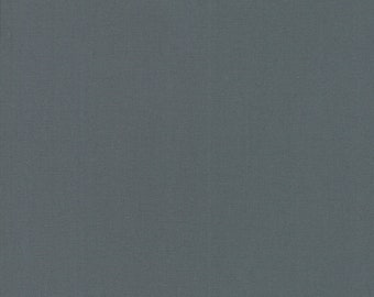 1/2 Yard - Bella Solids - Moda Classic - Graphite - Moda - Fabric Yardage - 9900-202