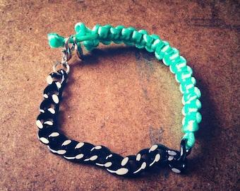 Macrame' Chain Bracelet
