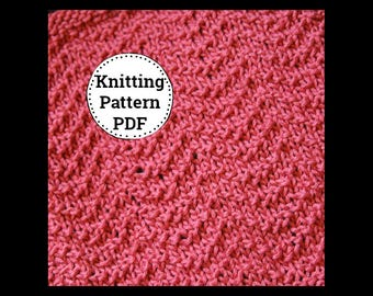 KNITTING PATTERN | Dishcloth Pattern | Knitted Dishcloth | Archways Dishcloth Pattern