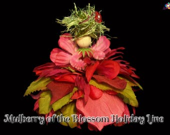 Mulberry of the Blossom Holiday Line, Fairy, Faerie, OOAK, Doll