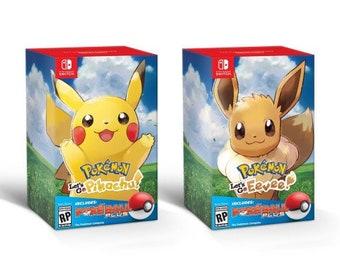 Pokemon Let's Go + Pokemon Ball Bundle! With custom Controller/Console