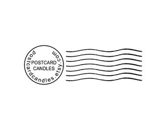Cancelled Postmark Mail Art custom Rubber Stamp cancellation