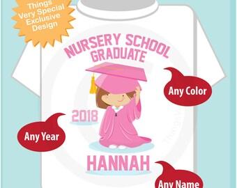 Nursery School Graduation Shirt   Nursery School Graduate Shirt   Kids's Graduation Shirt   06062018e