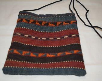 Striped bag Kilim pattern bag Turkish authentic kilim bag Crossbady bag Decotative bag Geometric bag hanging bag ethnic bag Handbags