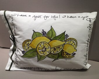 Zest for Life - Pillow