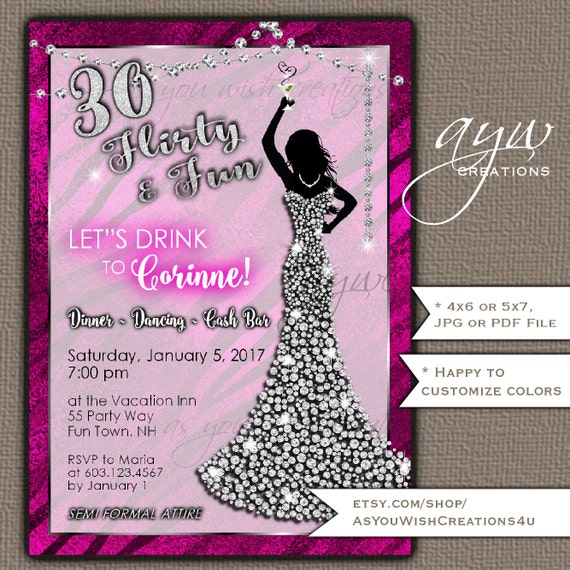 Paint and Sip Party Invitations Wine Birthday Party Invitation