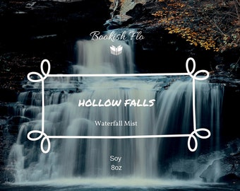 Hollow Falls  ~ Wood Wick 100% Soy Wax Candle