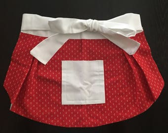 Girl's Little Red Apron