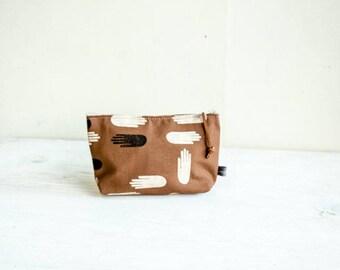 SUPER SALE! Cosmetic Bag—Las Manos Print-