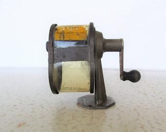 Vintage APSCO Midget Manual Pencil Sharpener Celluloid Shell