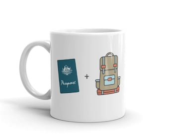 Coffee Mug Gift for Adventurous Travellers