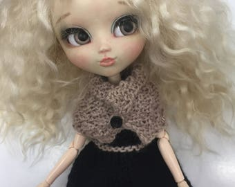 Pullip outfit Dress + cape/dress and cape