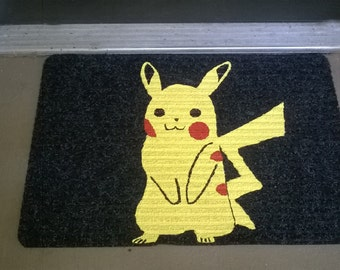 Pikachu Pokemon Welcome Mat