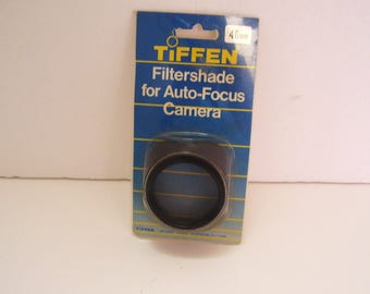 Vintage Tiffen Filtershade for Auto Focus 46mm Vintage Camera Accessory Made in USA