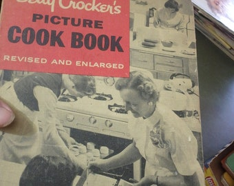 Betty Crocker's picture cook book -revised and enlarged 1956 2nd edition
