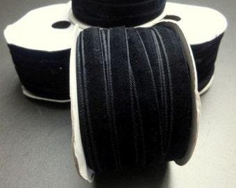 10mm black velvet ribbon, Gift wrap ribbon, Christmas ribbon, 10mm ribbon, velvet ribbon, black ribbon,narrow ribbon,trim