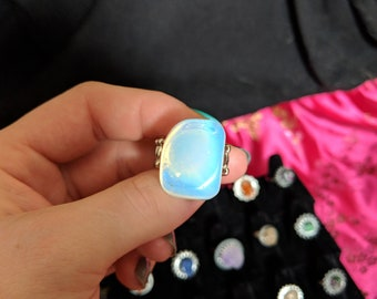 Crystal Opalite Ring