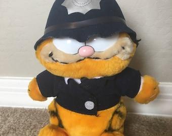 Vintage British Police Cat Garfield