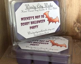 Disney Themed Soy Wax Melt- Mickeys Not So Scary Halloween Party