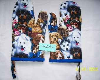 Dog Oven Mitts