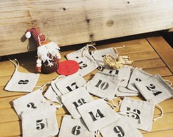 To garnish advent calendar