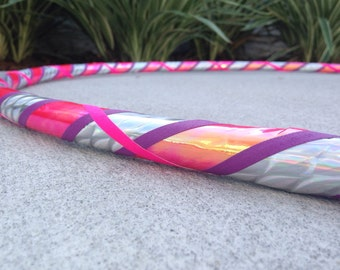 Bubblegum Wave Hula Hoop // Choose Your Diameter and Tubing