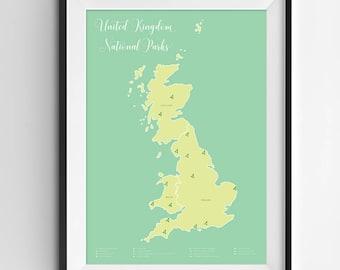united kingdom national parks map national parks national parks map united kingdom