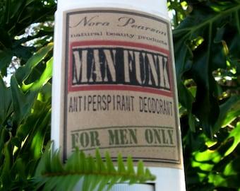 New Scent!  Man Funk All Natural Deodorant 2oz -Chill