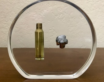 Ultimate Hunter Memento Display Piece - Forever Embed The Casing & Projectile From That First