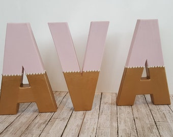 Custom Name Letters, Personalized Letters,